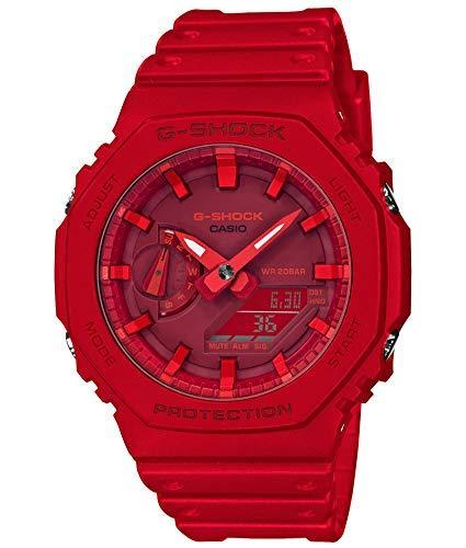 Red Casio G-SHOCK GA-2100