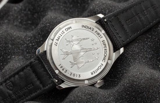 Bangalore Watch Company MACH 1 caseback