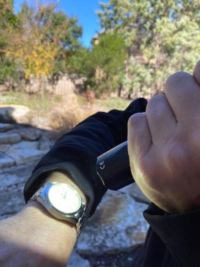 Best watch accessories: Surefire flashlight lumes large