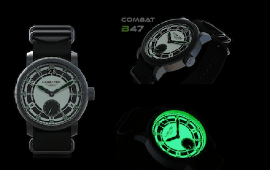 LÜM-TEC's new Combat B47 Max Lume in its various guises