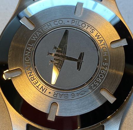IWC Pilot Watch MKXVIII caseback