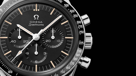 OMEGA Speedmaster Moonwatch 321 Stainless Steel dial