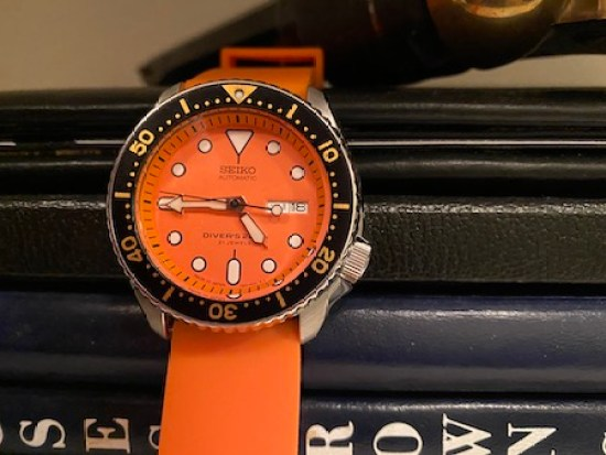 Seiko Diver Automatic Orange
