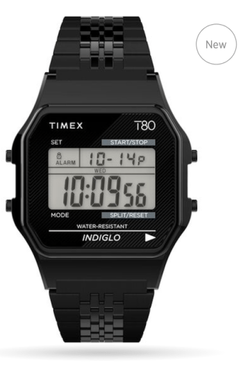 Timex T80 black