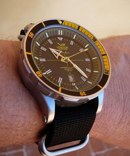 Vostok Anchar dive watch (courtesy watchuseek.com)