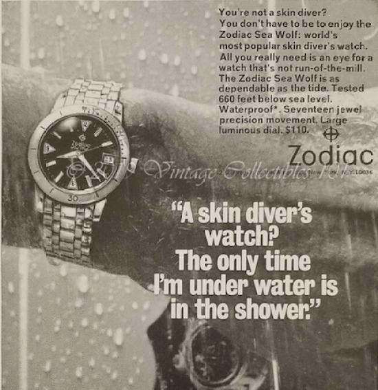 Zodiac ad
