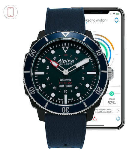 Apple watch dominates the Alpina Seastrong horological smartwatch - and how