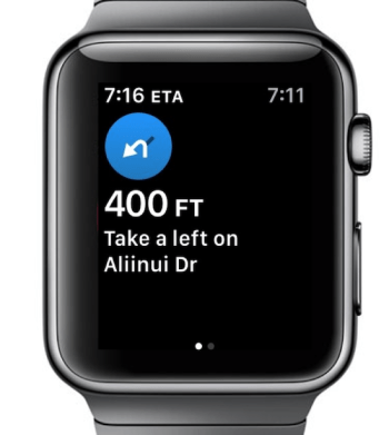 Aple Watch directions are a buzz