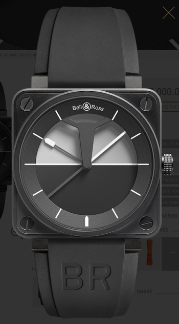 Bell & Ross cockpit classic Limited Horizon