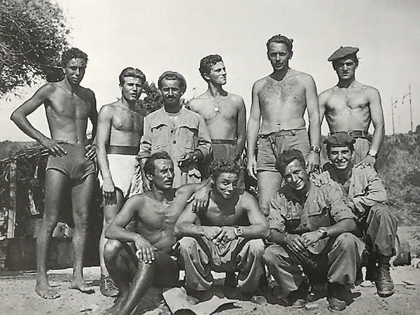 Gruppo Gamm wearing Panerai, Commander Eugenio Wolk second from the right (courtesy perezcope.com)