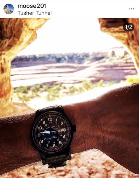 Hamilton Khaki Field Watch Titanium