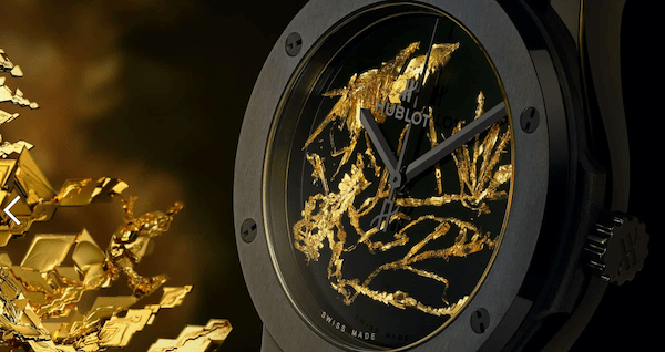 Hublot Classic Fusion Gold Crystal again