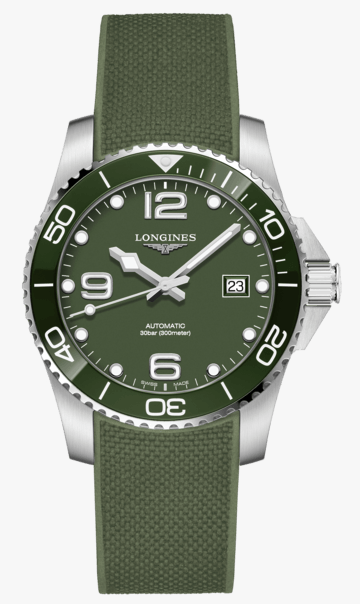 New watch alert - Longine Hydroconquest green dial