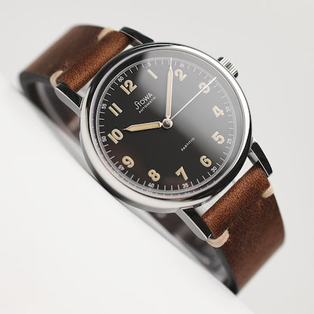 New watch alert - Stowa Partitio Vintage Limited Black