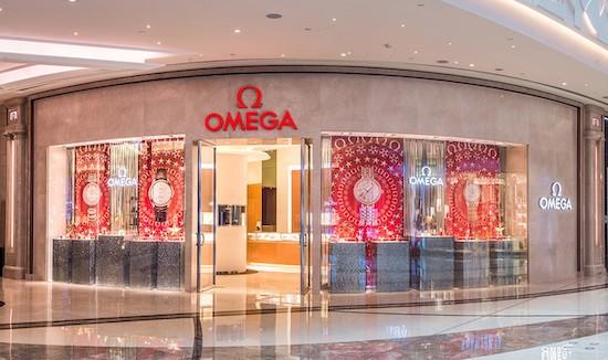 OMEGA boutique Macau