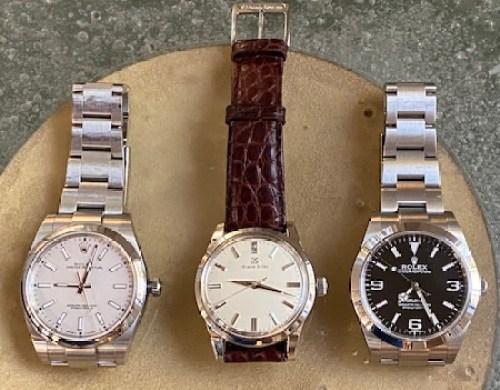 Rolex versus Grand Seiko threesome