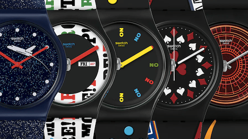 SWATCH 007 watches