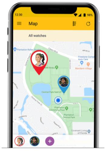 WatchMeGo Sprint App