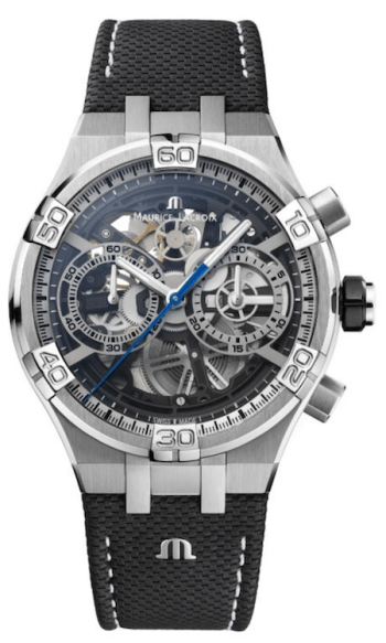 New watch alert! Maurice Lacroix Aikon Chronograph Skeleton