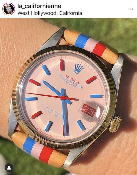 Watch news! Rolex mauls laCalifornienne modder