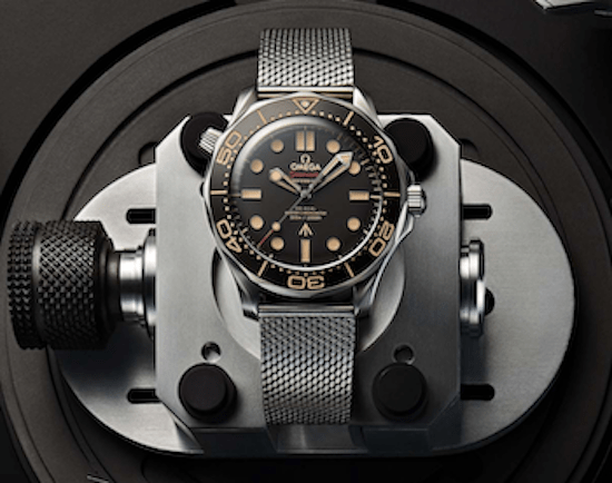 007 Edition OMEGA Seamaster Diver 300M in the squeeze