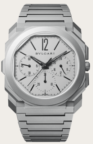 Bulgari Octo Finissimo Chronograph GMT naked