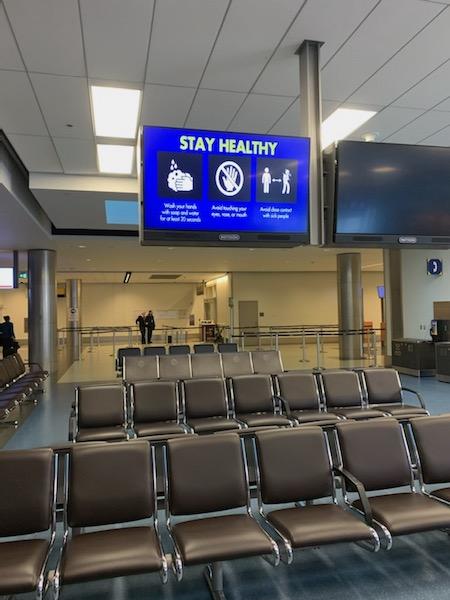 Calgary airport 3.1.5.2020