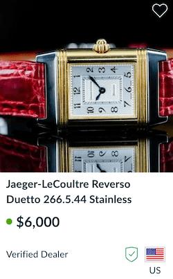 Coronavirus Watch - Jaeger leCoultre Reverso