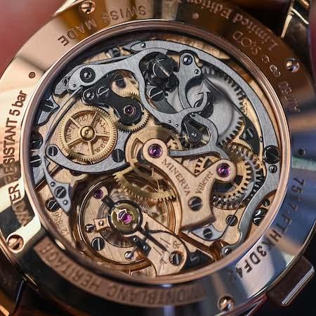 New watch alert! Montblanc Minerva movement