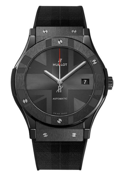 New watch alert! Hublot London Edition Classic Fusion