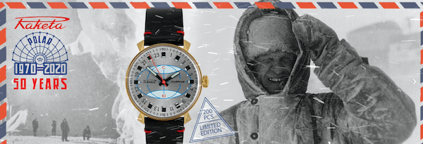 Raketa Polar watch
