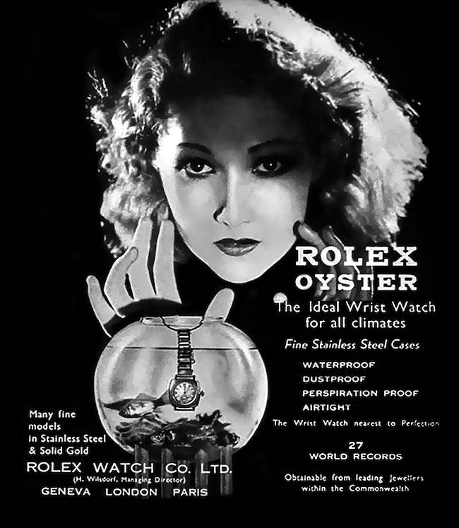 1932 Rolex ad