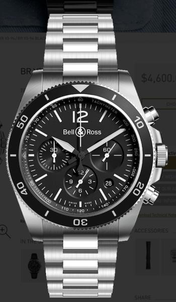 Bell & Ross BR V3-94 Black Steel new watch alert!