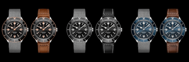 Breitling's new watches: Superocean Heritage '57 collection