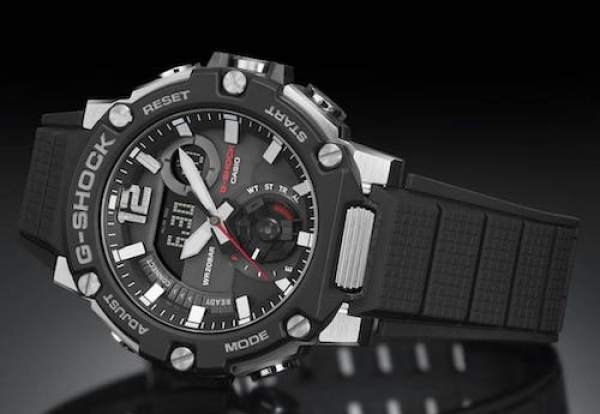 G-SHOCK G-STEEL with Carbon Guard protection