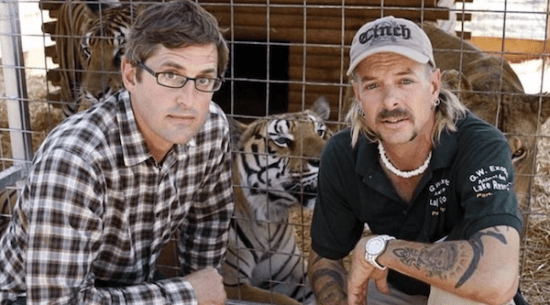 Joe Exotic, Joe Exotic's watch, Louis Theroux and tiger