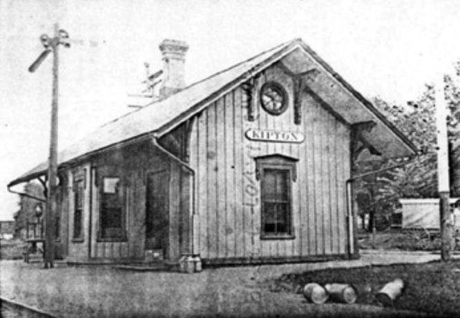 Kipton train depot