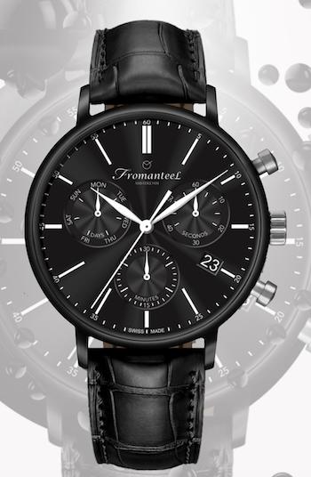 New watch alert! Fromanteel Nero
