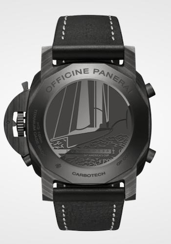 New watch alert! Panerai Luminor Luna Rossa Regatta caseback