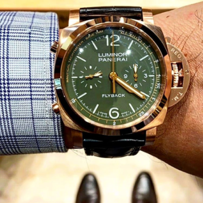 Big watches - Panerai MS Dhoni Flyback Chronograph