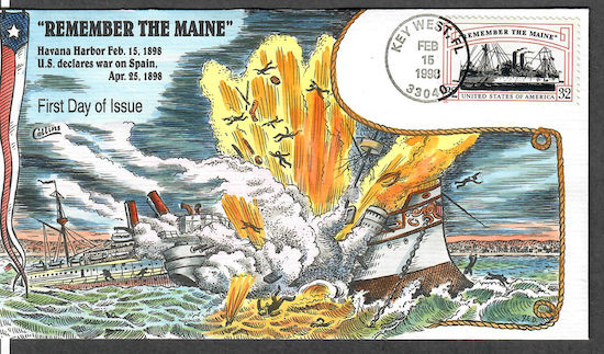 Remember the Maine stamp