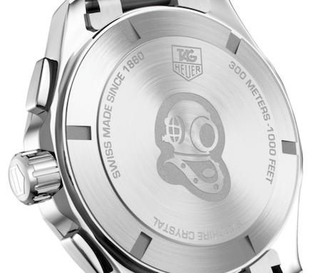 TAG Heuer Aquaracer GMT caseback