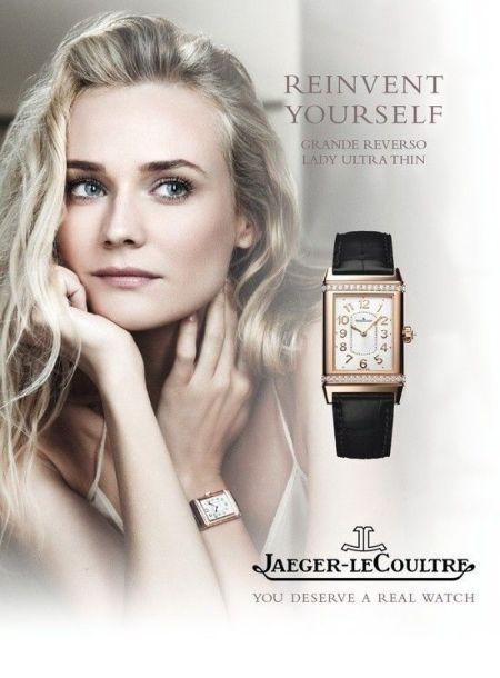 Diane Kruger - JLC brand ambassador