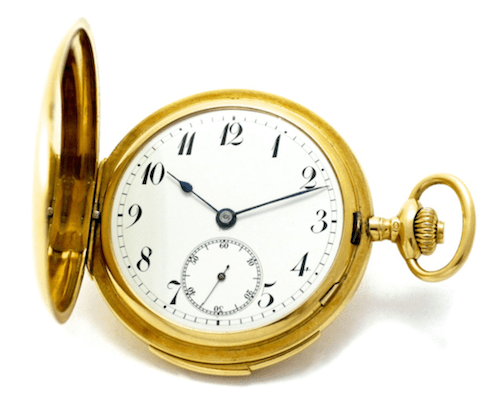 Early Jaeger-LeCoultre pocket watch