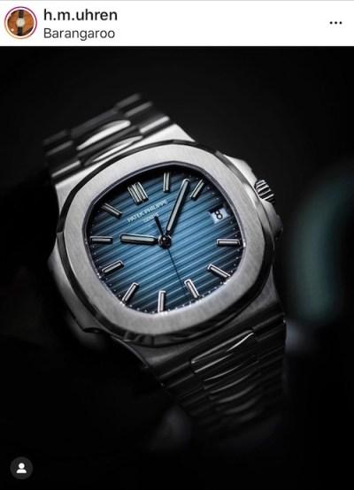 Grail watch again - Patek Philippe Nautilus