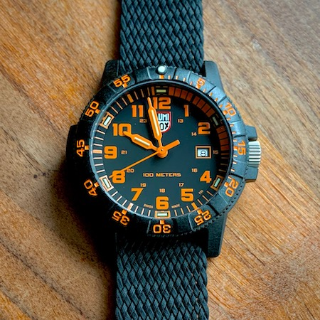 Luminox Sea Turtle again