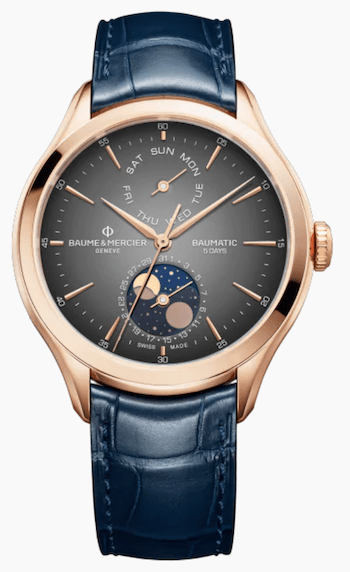 New watch alert! Baume & Mercier Clifton Baumatic 10547