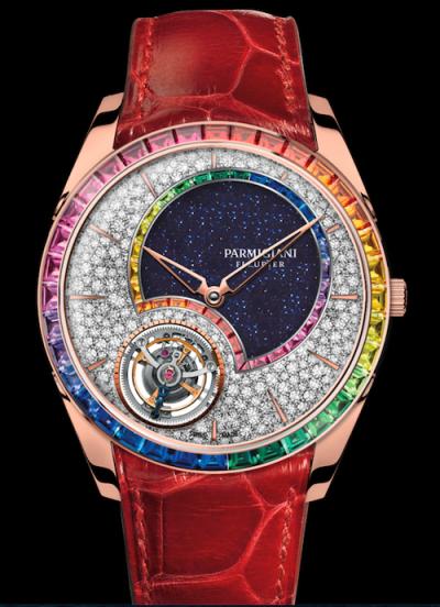 New watch alert! Parmigiani Fleurier Tonda 1950 Tourbillon Double Rainbow