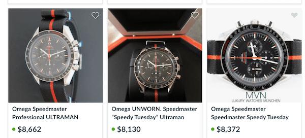 OMEGA Speedmaster Ultraman