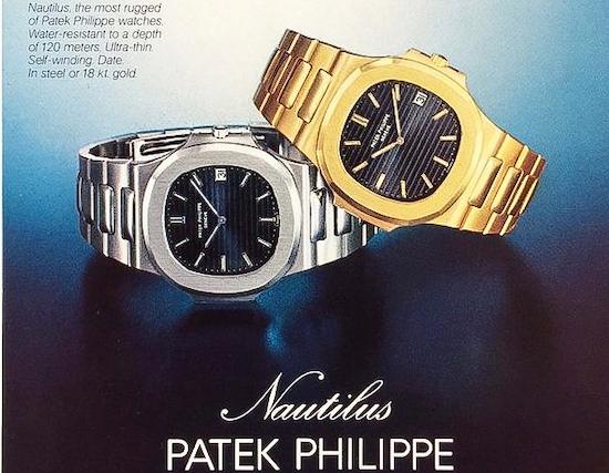 Patek Philippe Nautilus Ad